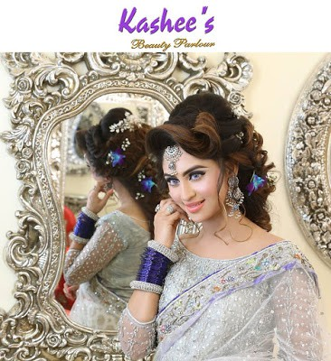 Kashees Sensational Bridal Hairstyling Makeup By Kashif Aslam