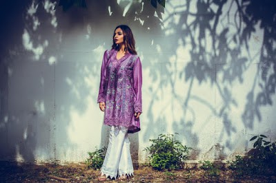 nadia farooqui ready to wear women fall winter dresses Collection 2018-19-1