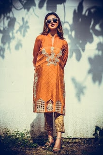 nadia farooqui ready to wear women fall winter dresses Collection 2018-19-4