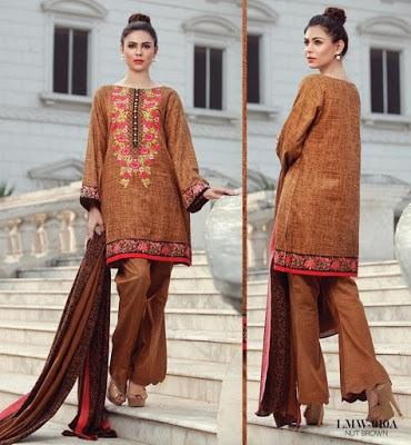 Lala-La-Moderno-winter-embroidered-khaddar-wool-shawl-dresses-collection-2016-14
