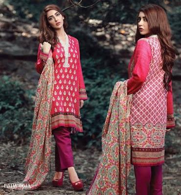 Lala-La-Moderno-winter-embroidered-khaddar-wool-shawl-dresses-collection-2016-4