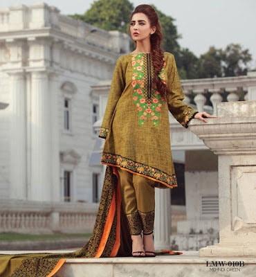 Lala-La-Moderno-winter-embroidered-khaddar-wool-shawl-dresses-collection-2016-9