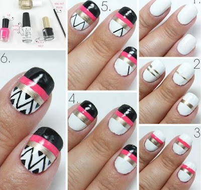 hand-painted-fashion-nail-art-designs-2016-1