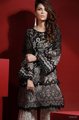 thredz-black-&-white-unstitched-formal-winter-dresses-collection-2016-15