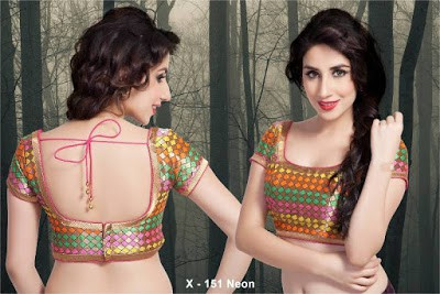 Indian-latest-brocade-blouse-designs-saree-2017-for-women-1