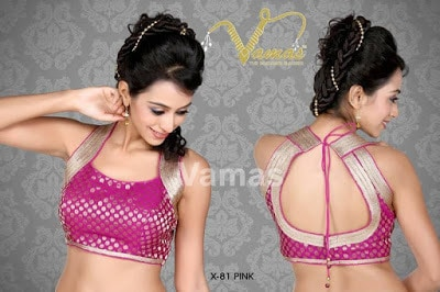 Indian-latest-brocade-blouse-designs-saree-2017-for-women-5