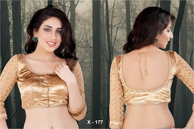 Indian-latest-brocade-blouse-designs-saree-2017-for-women-7