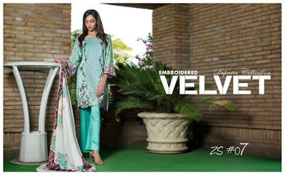ZS-textiles-winter-embroidered-dresses-collection-2016-with-velvet-dupatta-6