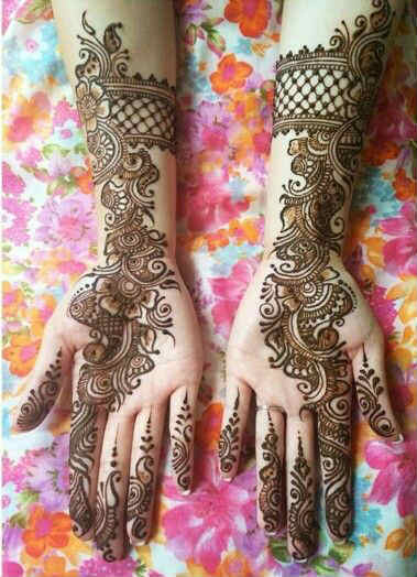 best-and-simple-Indian-bridal-mehndi-designs-for-hands-for-beginner-11