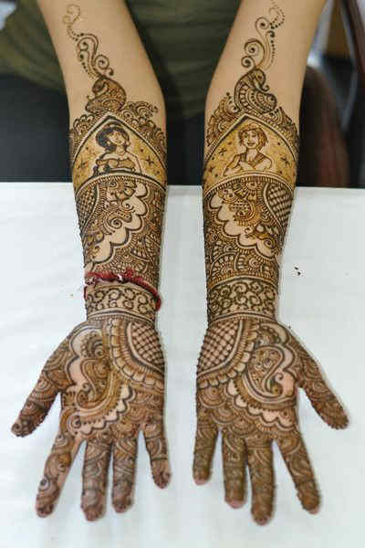 best-and-simple-Indian-bridal-mehndi-designs-for-hands-for-beginner-13