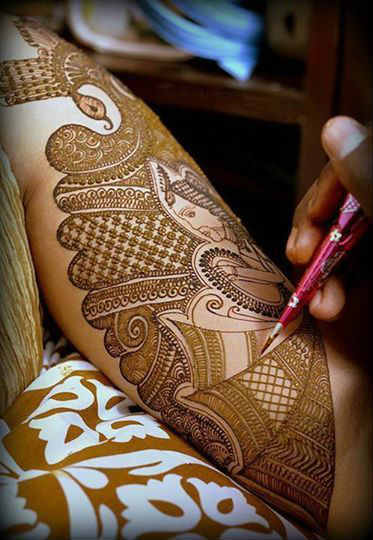 best-and-simple-Indian-bridal-mehndi-designs-for-hands-for-beginner-16