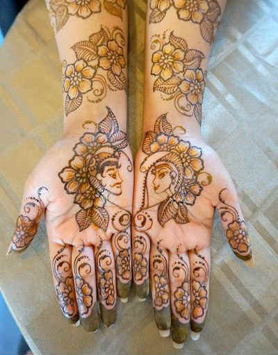 best-and-simple-Indian-bridal-mehndi-designs-for-hands-for-beginner-4