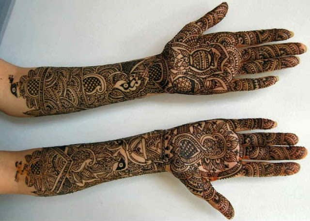 Best And Simple Bridal Mehndi Designs For Hands Indian Fashion Cluba