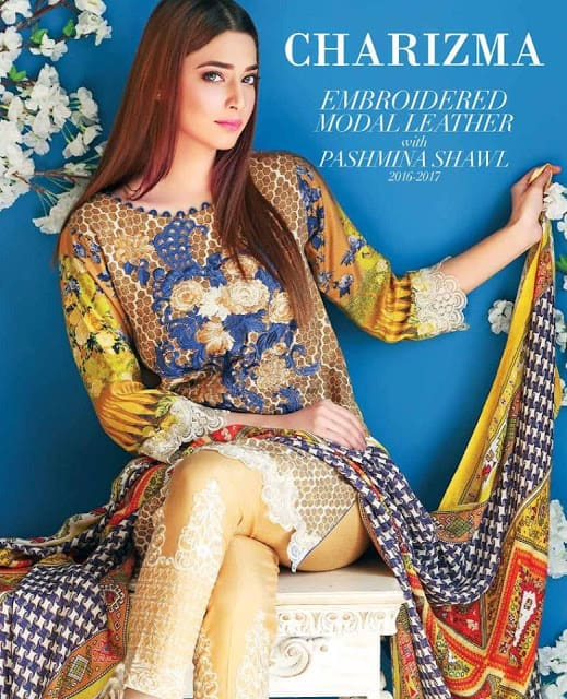 charizma-winter-embroidered-modal-leather-dresses-collection-2017-for-women-1