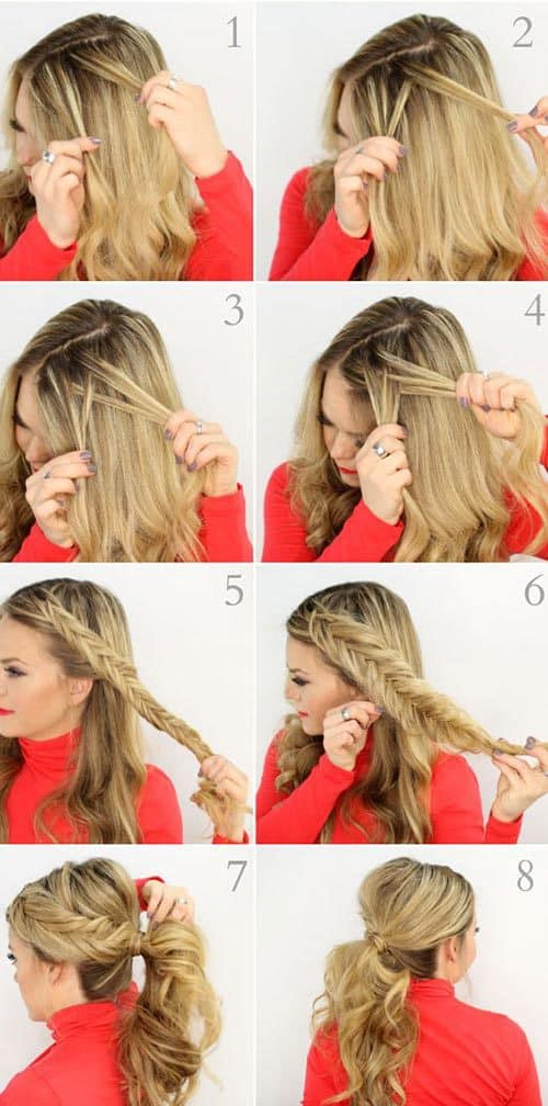 cute-and-easy-to-make-fishtail-hairstyles-plait-5