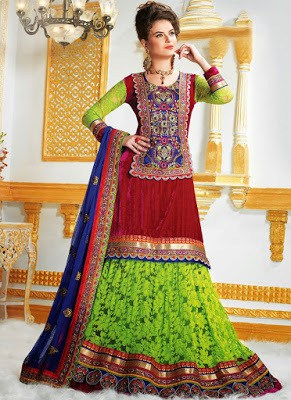 latest-lehenga-saree-indian-blouse-designs-2016-17-for-women-11