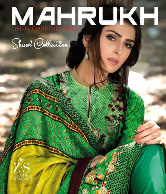 mahrukh-latest-winter-embroidered-shawl-dress-collection-2017-by-zs-textiles-1