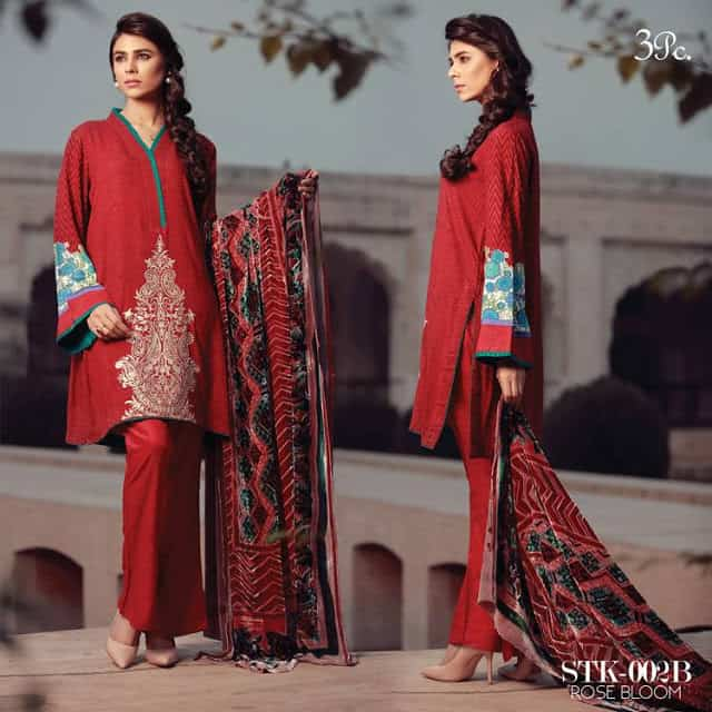 sana-&-samia-winter-embroidered-linen-plachi-dress-2017-by-lala-7