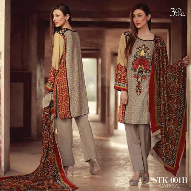 sana-&-samia-winter-embroidered-linen-plachi-dress-2017-by-lala-8
