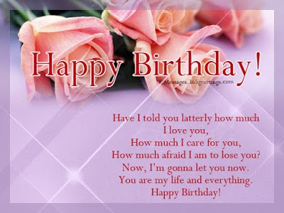 best happy birthday wishes for girlfriend