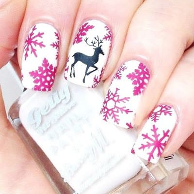 classy-and-stylish-christmas-nail-art-designs-for-girls-15
