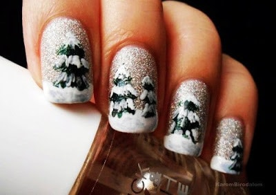 classy-and-stylish-christmas-nail-art-designs-for-girls-22