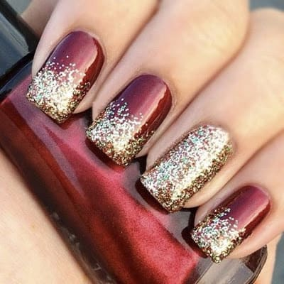 Classy And Simple Christmas Nail Art Designs For Stylish Girls Fashion Cluba