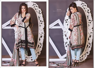 Firdous-fashion-new-korean-linen-dresses-of-winter-2017-9