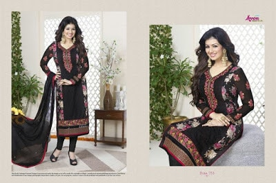 Indian-latest-embroidered-designs-chiffon-dresses-collection-2017-by-Aarohi-6