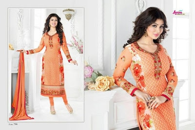 Indian-latest-embroidered-designs-chiffon-dresses-collection-2017-by-Aarohi-9