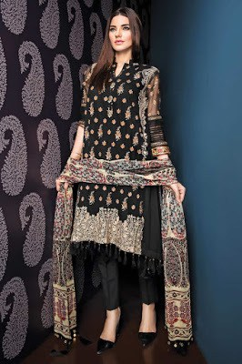 Khaadi-fancy-evening-winter-wear-dresses-collection-2017-14