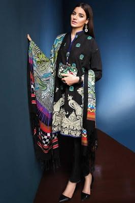 Khaadi-fancy-evening-winter-wear-dresses-collection-2017-2