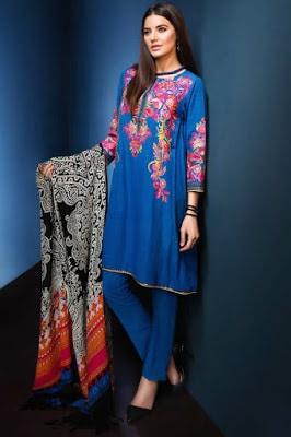 Khaadi-fancy-evening-winter-wear-dresses-collection-2017-3