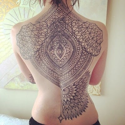 Latest-Stylishly-Challenging-Back-Tattoos-Ideas-for-Women-8
