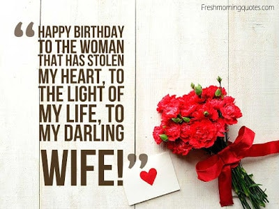 Astounding Romantic Happy Birthday Wishes For Wife With Images And Quotes Personalised Birthday Cards Paralily Jamesorg