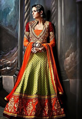 Top-indian-designer-choli-and-bridal-lehenga-blouse-designs-2016-17-15