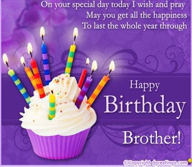 happy birthday wishes for brother from sister with images