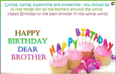 happy birthday wishes for brother images