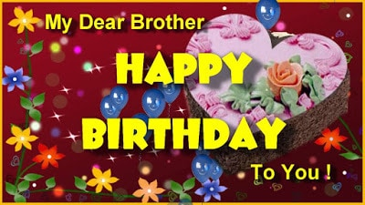 happy birthday wishes to brother message