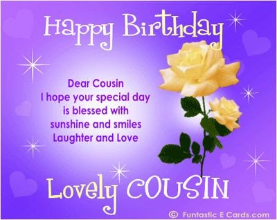 birthday wishes for cousin in heaven