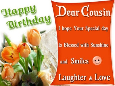 birthday wishes for cousin images
