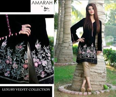 amarah-luxury-winter-velvet-dresses-collection-2017-by-sajh-dhaj-5