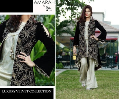 amarah-luxury-winter-velvet-dresses-collection-2017-by-sajh-dhaj-7