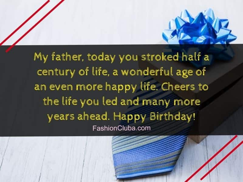 bithday wishes for dad from daughter