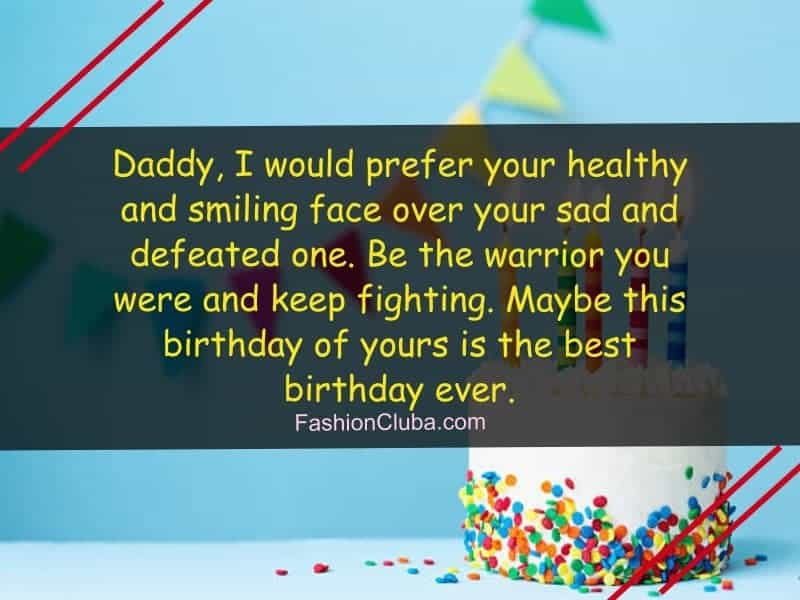 Nice Quotes About Birthday Of Father From Daughter