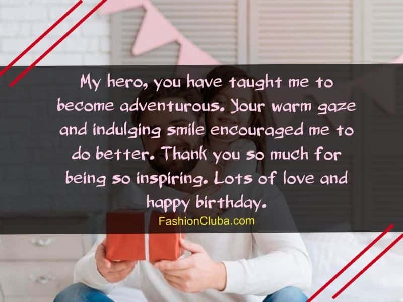 motivational birthday wishes for father from daughter