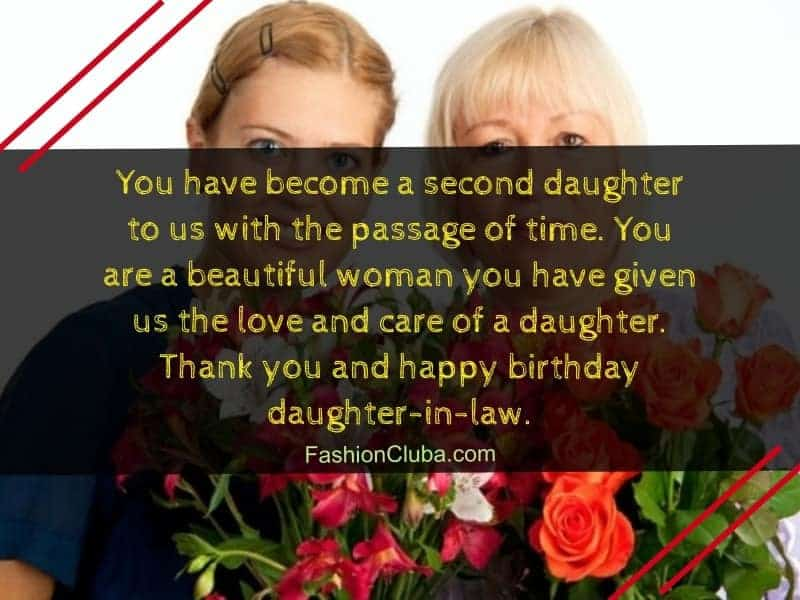 birthday wishes for daughter-in-law