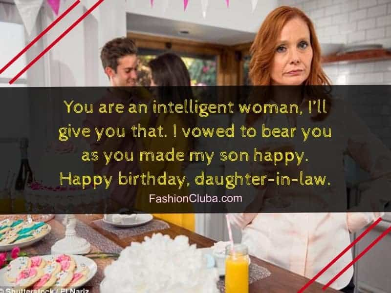 cute birthday messages for daughter-in-law