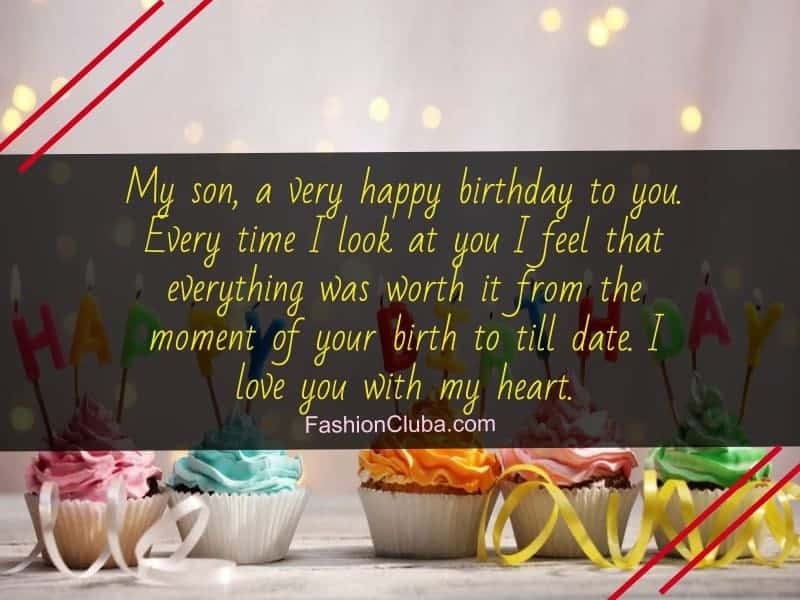 Birthday Wishes For Son From Father And Mother