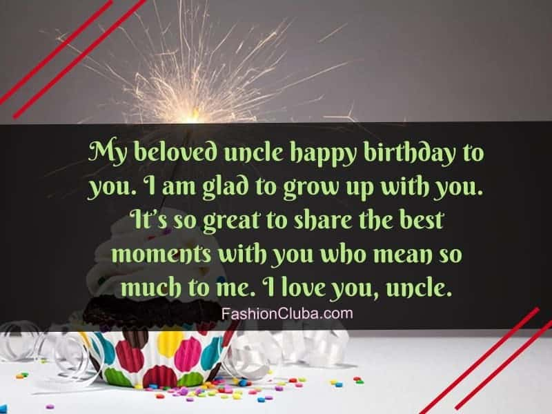 cute happy birthday wishes for uncle